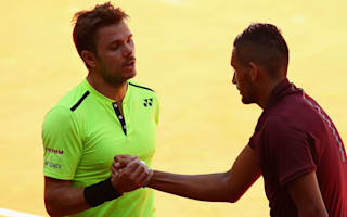 Wawrinka has no problem with 'dangerous' Kyrgios