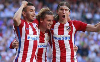 Genius Griezmann will stay at Atletico - Filipe Luis