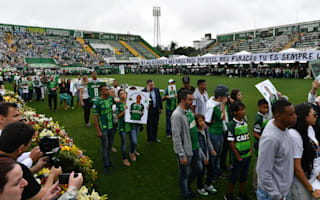 Tributes paid at Arena Conda memorial after Chapecoense tragedy