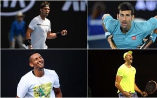 Nadal, Djokovic cruise as Karlovic survives Zeballos marathon
