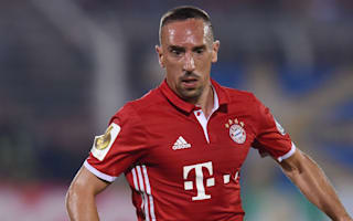 Ribery a week away from return - Ancelotti