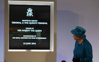 Queen hailed as 'inspiration' for new Heathrow terminal
