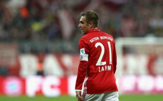 Lahm makes 500th Bayern appearance vs Schalke