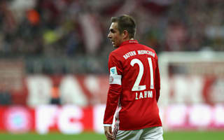 Lahm makes 500th Bayern appearance vs Schalke