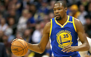 Durant won't play for Warriors against Trail Blazers in game two