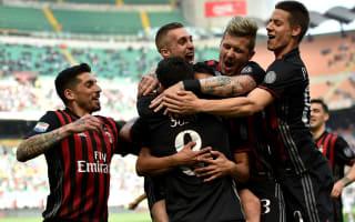AC Milan 4 Palermo 0: First-half blitz helps Rossoneri leapfrog Inter