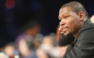 Warriors to be without Durant for at least a month