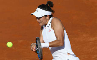 Muguruza marches on, Pliskova bows out in Rome