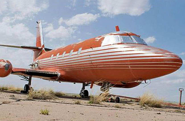 A Big Hunk O' Steel: Elvis Presley's private jet for sale