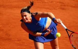 Kvitova practises at Roland Garros ahead of participation announcement