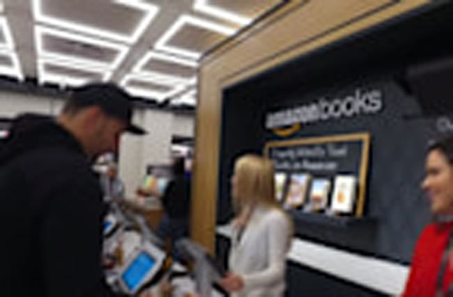 Amazon opens book store in New York City