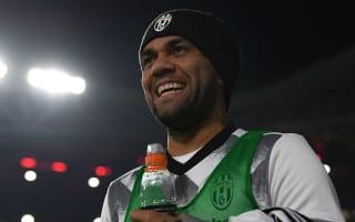 Dani Alves 'convinced' Juventus can win Champions League