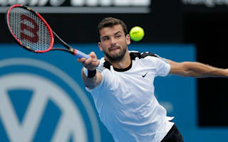 Dimitrov made to wait by rain in Sydney