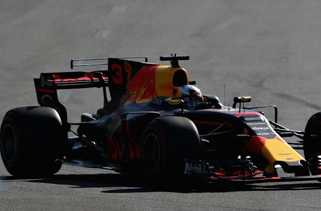 Ricciardo benefits from Hamilton's head rest woe as tensions with Vettel boil over