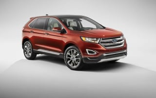Ford reveals new Edge SUV for Europe