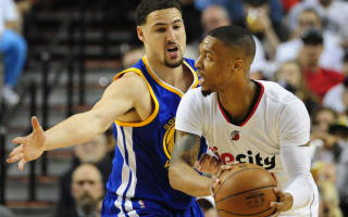 Lillard leads Trail Blazers past Warriors, Raptors win