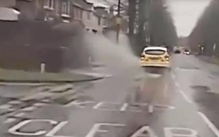 Police car splashes pedestrian in Eastleigh