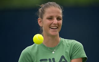 Pliskova saves seven set points on way to Nottingham victory