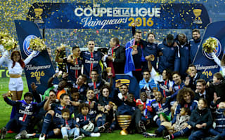 Blanc hails PSG character after Coupe de la Ligue triumph
