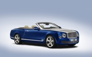 Bentley wows in LA with Grand Convertible