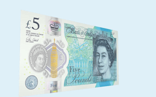 Why is there animal fat in the new £5 note?