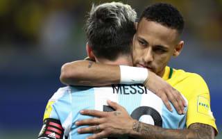 Brazil attracting attention of Messi - Neymar