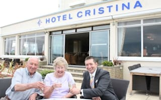 Couple who visited same Jersey hotel 90 times get 92 per cent discount