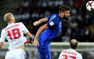 Belarus 0 France 0: Stuttering start for Deschamps' side