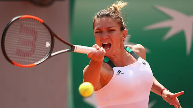 Cahill on brink of history as Halep reaches French Open final