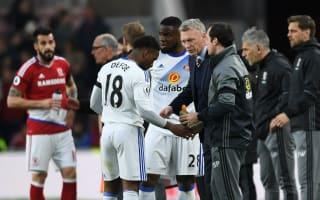 Moyes: Sunderland deserved something against Middlesbrough