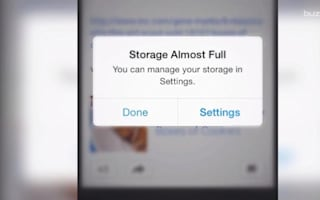 What to delete if your smartphone storage is full