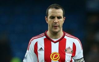 Sunderland captain O'Shea doubtful for Liverpool clash