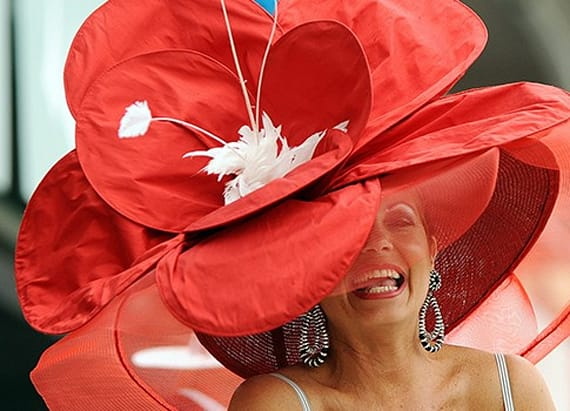The craziest hats of the Kentucky Derby