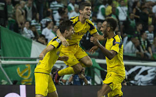 Sporting CP 1 Borussia Dortmund 2: Aubameyang and Weigl get BVB back to winning ways
