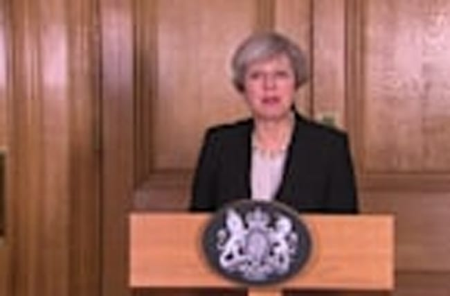 UK's May raises threat level to 'critical'