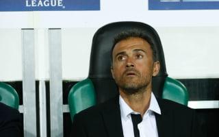 Barcelona deserved their win - Luis Enrique