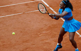 Serena too strong for gutsy Mladenovic