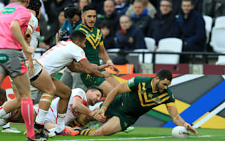 Kangaroos crush England to eliminate Four Nations hosts