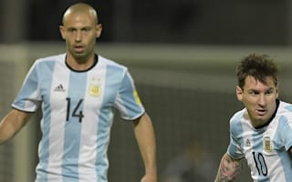 Mascherano: It would have been 'a sin' for Messi to stay in international retirement