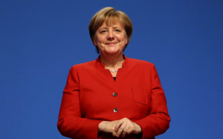 Angela Merkel has called for a burka ban