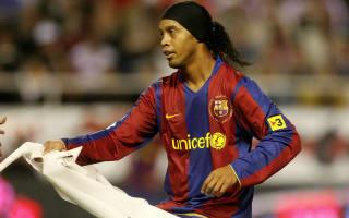Barca great Ronaldinho - I never lacked competitiveness