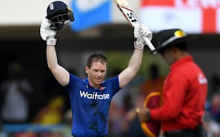 England centurion Morgan: I felt like I was batting with a stump