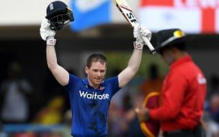 England centurion Morgan: I felt like I was batting with a stump