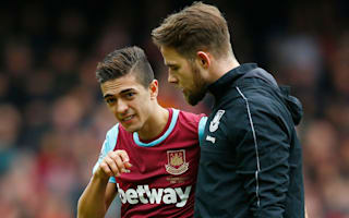 Lanzini could be out for 'four to six weeks'