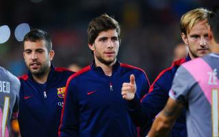 Roberto pleased with Barcelona's 2015