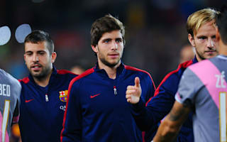 Roberto pleased with Barcelona's 2015