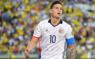 James: I'll play for Colombia until I'm crippled