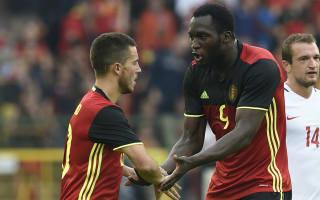 Belgium 3 Norway 2: Hazard helps hosts win thriller ahead of Euro 2016