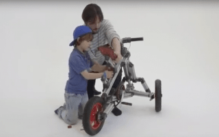 It's better than Lego! Construction kit inspires new generation of bike builders