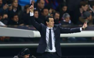 Emery puts Barcelona meltdown in PSG's past